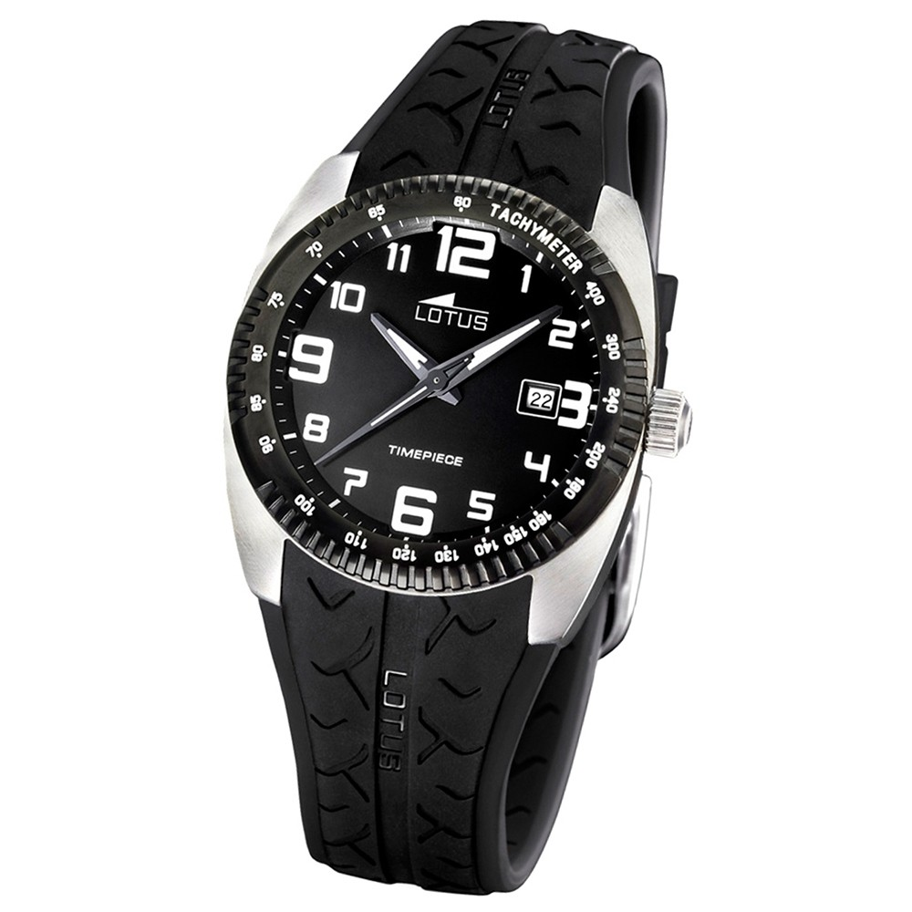 LOTUS Herren-Armbanduhr Cool analog Quarz Edelstahl UL15569/3