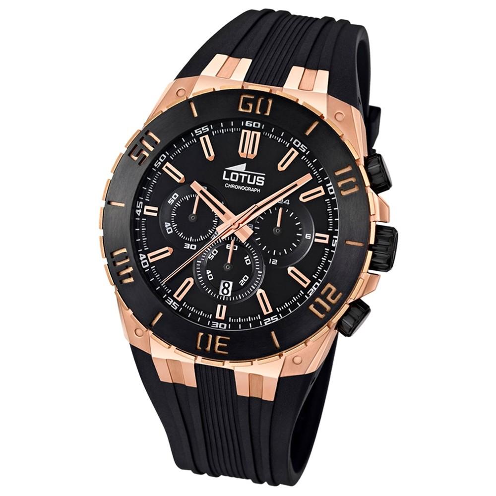 LOTUS Herren-Armbanduhr LOTUS R Chronograph Quarz Kautschuk UL15804/1