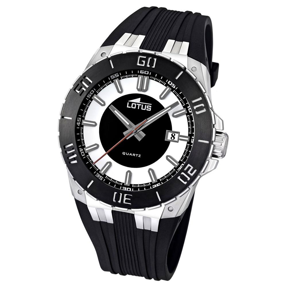 LOTUS Herren-Armbanduhr LOTUS R analog Quarz Kautschuk UL15805/1