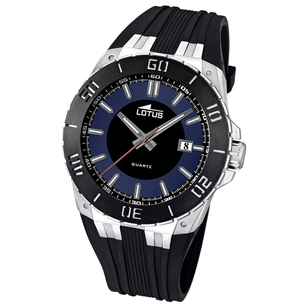 LOTUS Herren-Armbanduhr LOTUS R analog Quarz Kautschuk UL15805/2