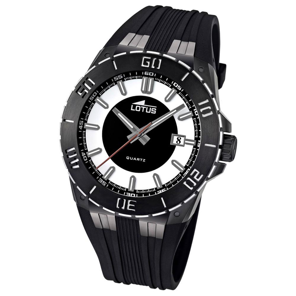 LOTUS Herren-Armbanduhr LOTUS R analog Quarz Kautschuk UL15806/1