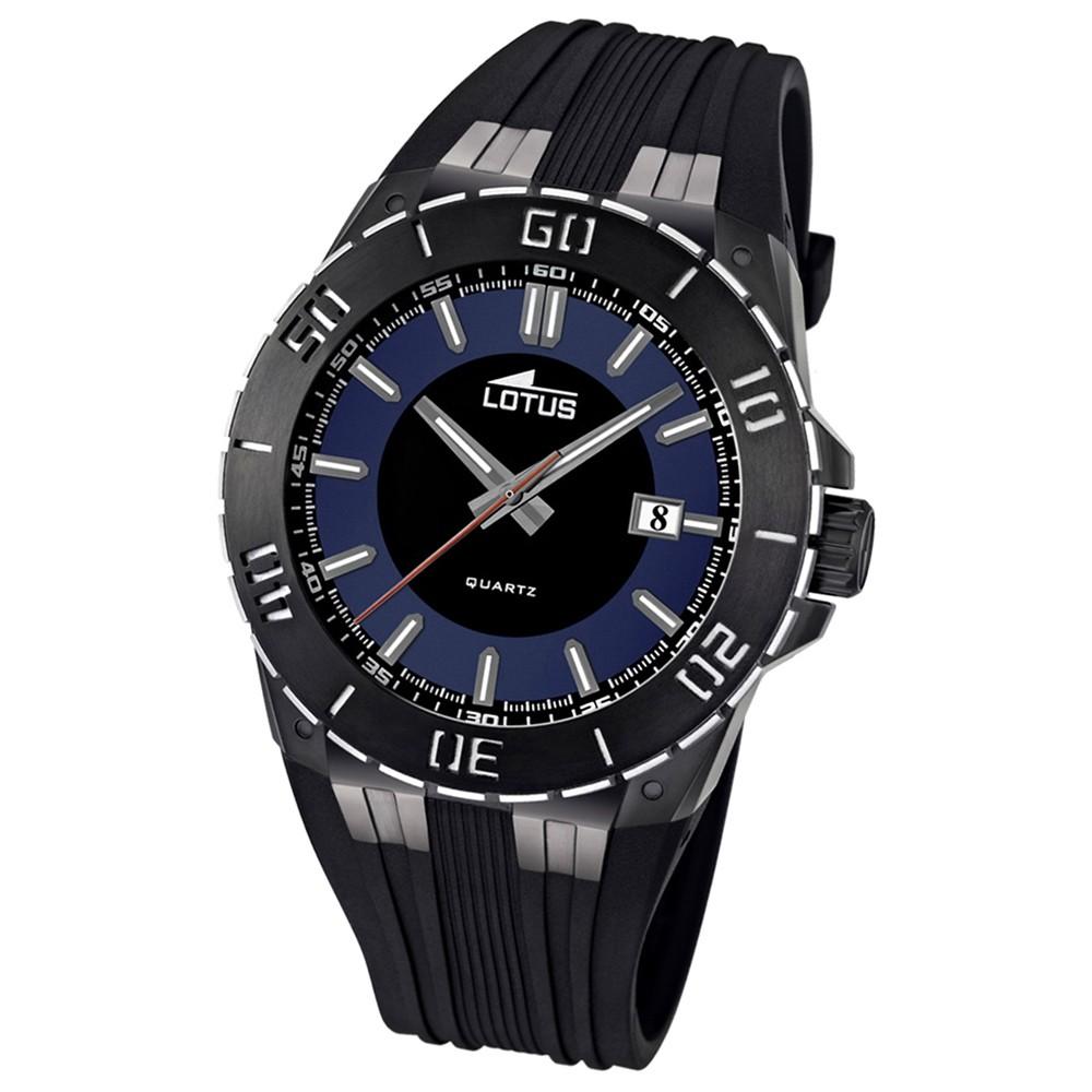 LOTUS Herren-Armbanduhr LOTUS R analog Quarz Kautschuk UL15806/2