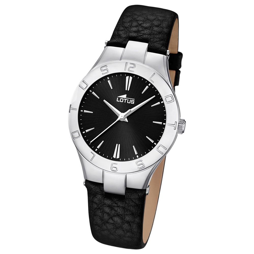 LOTUS Damen-Armbanduhr Trendy analog Quarz Leder UL15899/2