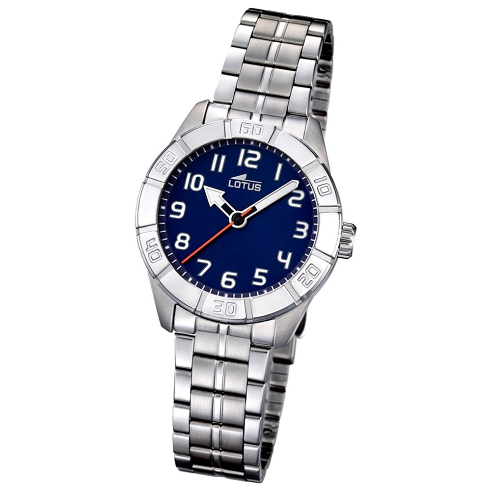 LOTUS Jugend-Armbanduhr Junior analog Quarz Edelstahl UL15943/2