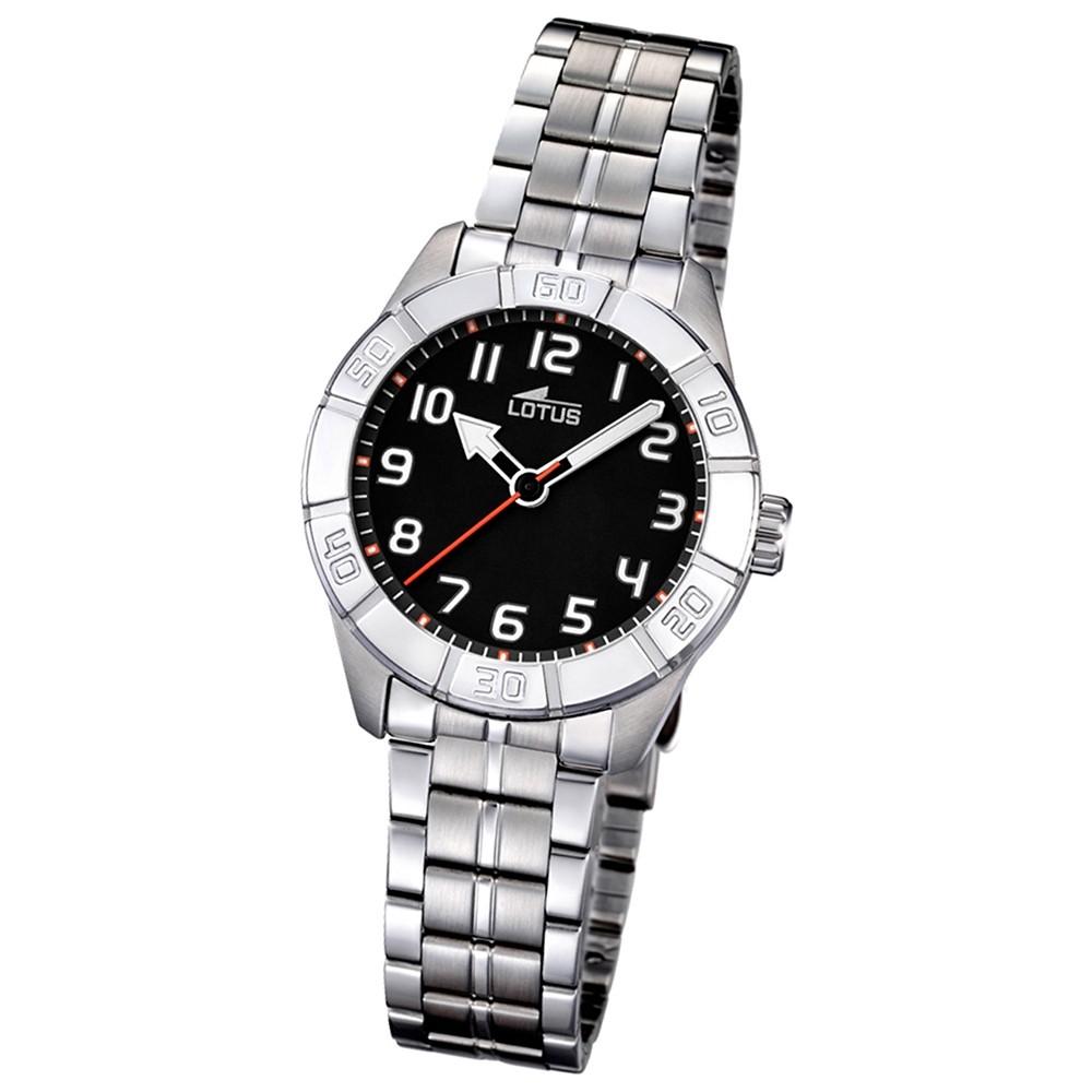 LOTUS Jugend-Armbanduhr Junior analog Quarz Edelstahl UL15943/3