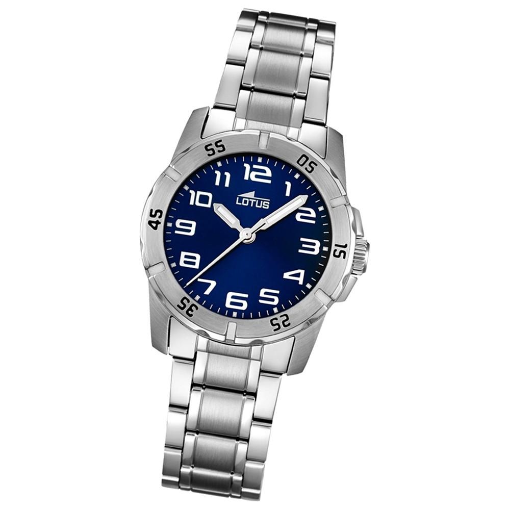 LOTUS Jugend-Armbanduhr Junior analog Quarz Edelstahl UL15944/2