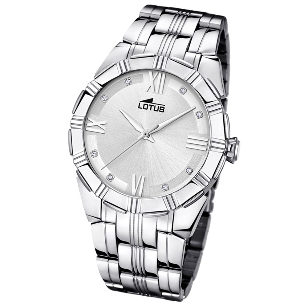 Lotus Damen-Armbanduhr Edelstahl silber 15984/4 Quarz Trendy UL15984/4