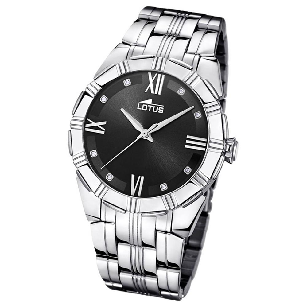 Lotus Damen-Armbanduhr Edelstahl silber 15984/5 Quarz Trendy UL15984/5