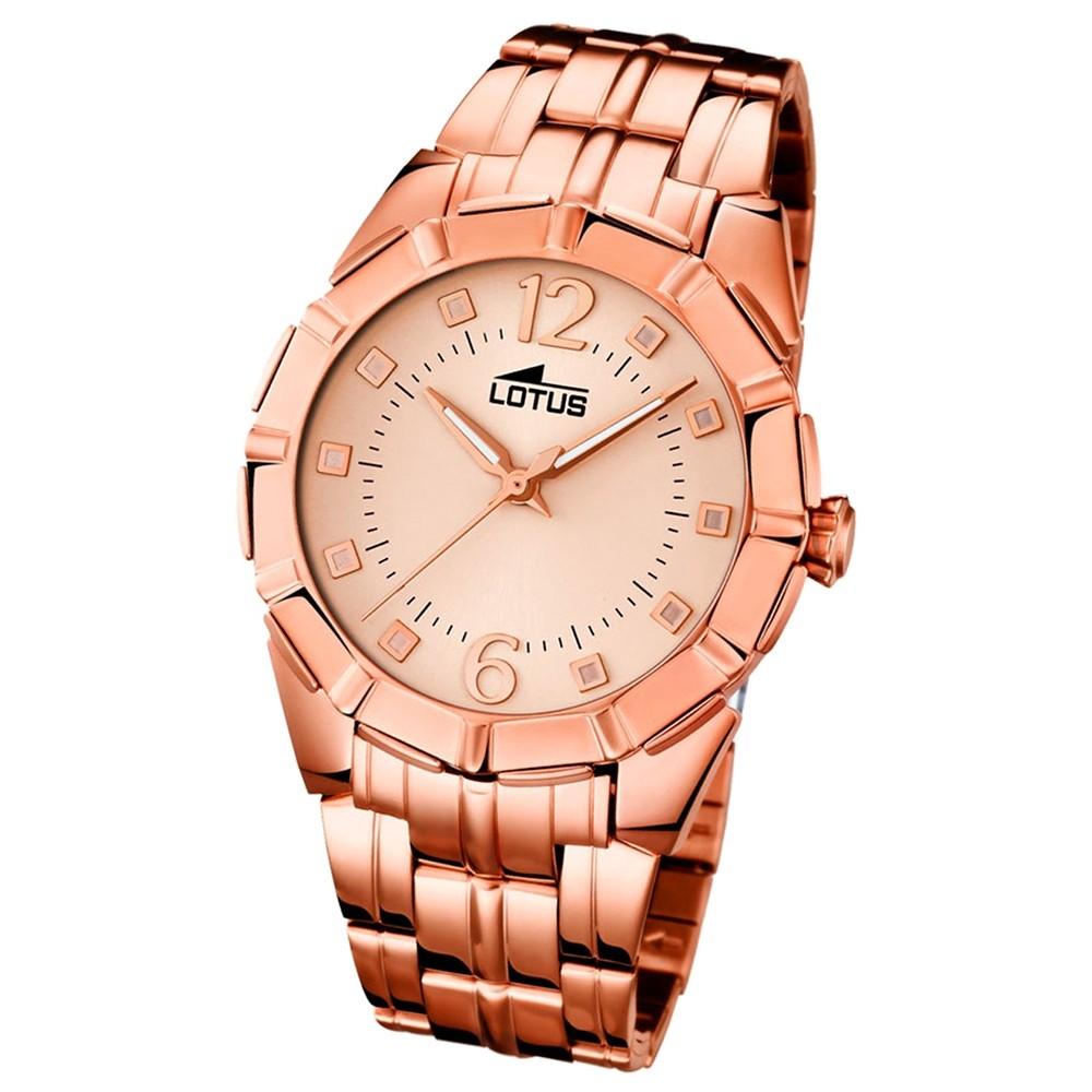 LOTUS Damen-Uhr - Woman/Trendy/Lady - Analog - Quarz - Edelstahl - UL15989/2