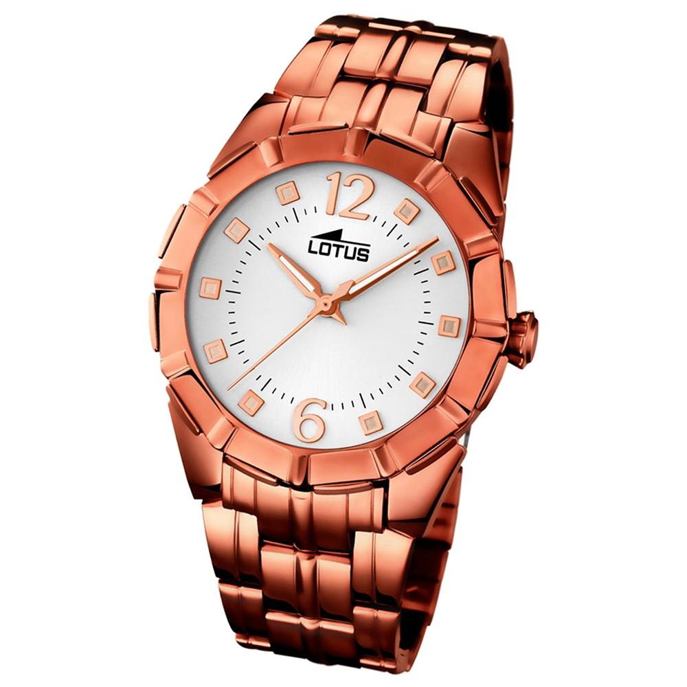 LOTUS Damen-Uhr - Woman/Trendy/Lady - Analog - Quarz - Edelstahl - UL15990/1