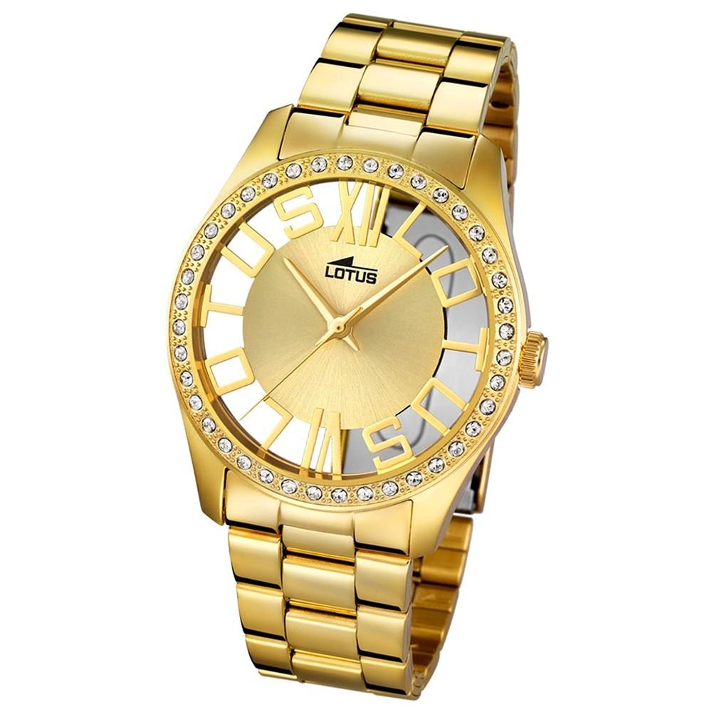LOTUS Damen-Uhr - Woman/Trendy/Lady - Analog - Quarz - Edelstahl - UL18127/1