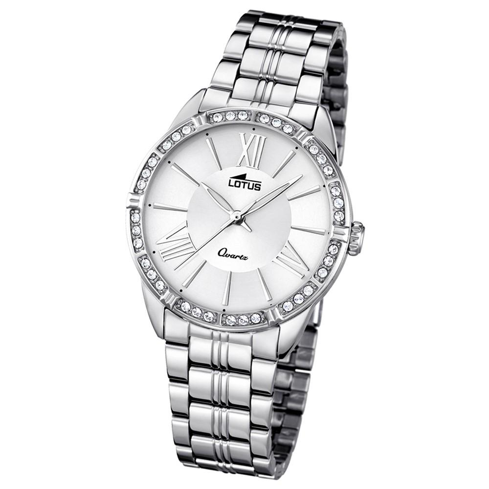 LOTUS Damen-Uhr - Woman/Trendy/Lady - Analog - Quarz - Edelstahl - UL18130/1
