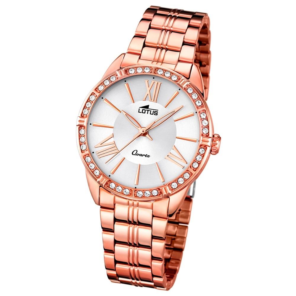 LOTUS Damen-Uhr - Woman/Trendy/Lady - Analog - Quarz - Edelstahl - UL18132/1