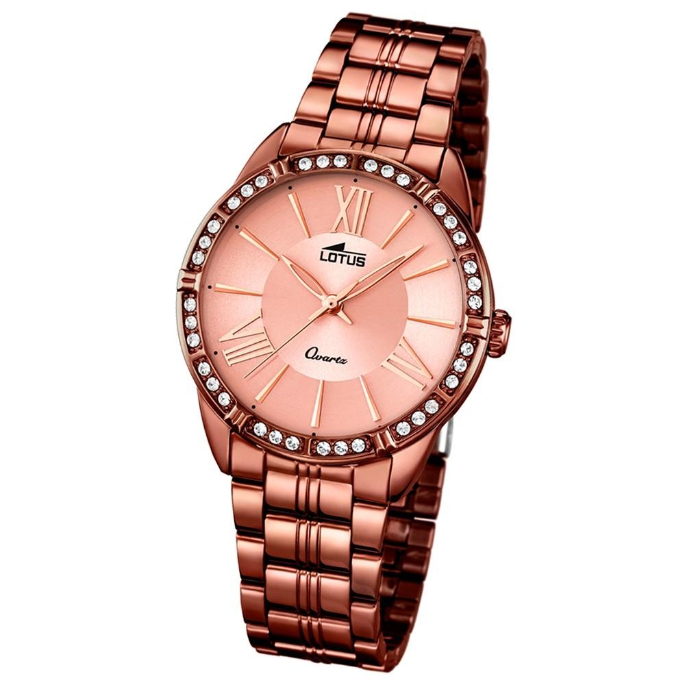 LOTUS Damen-Uhr - Woman/Trendy/Lady - Analog - Quarz - Edelstahl - UL18133/1