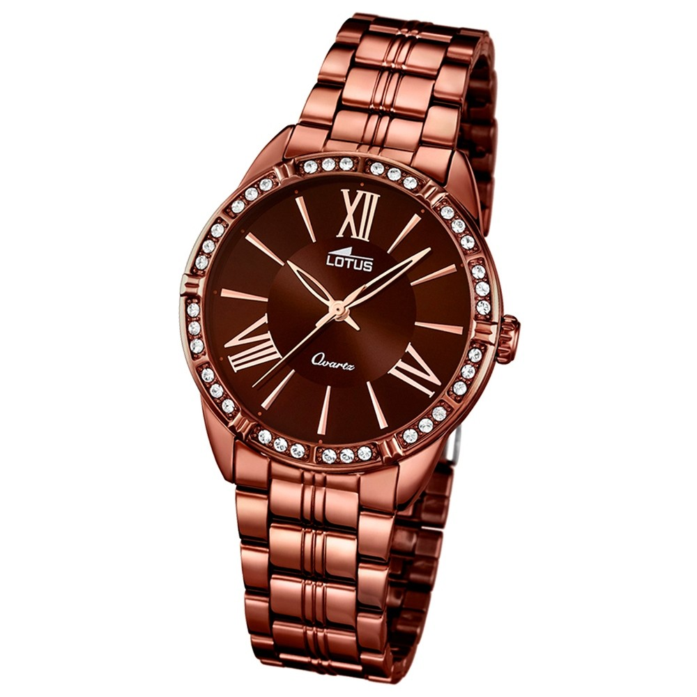 LOTUS Damen-Uhr - Woman/Trendy/Lady - Analog - Quarz - Edelstahl - UL18133/2