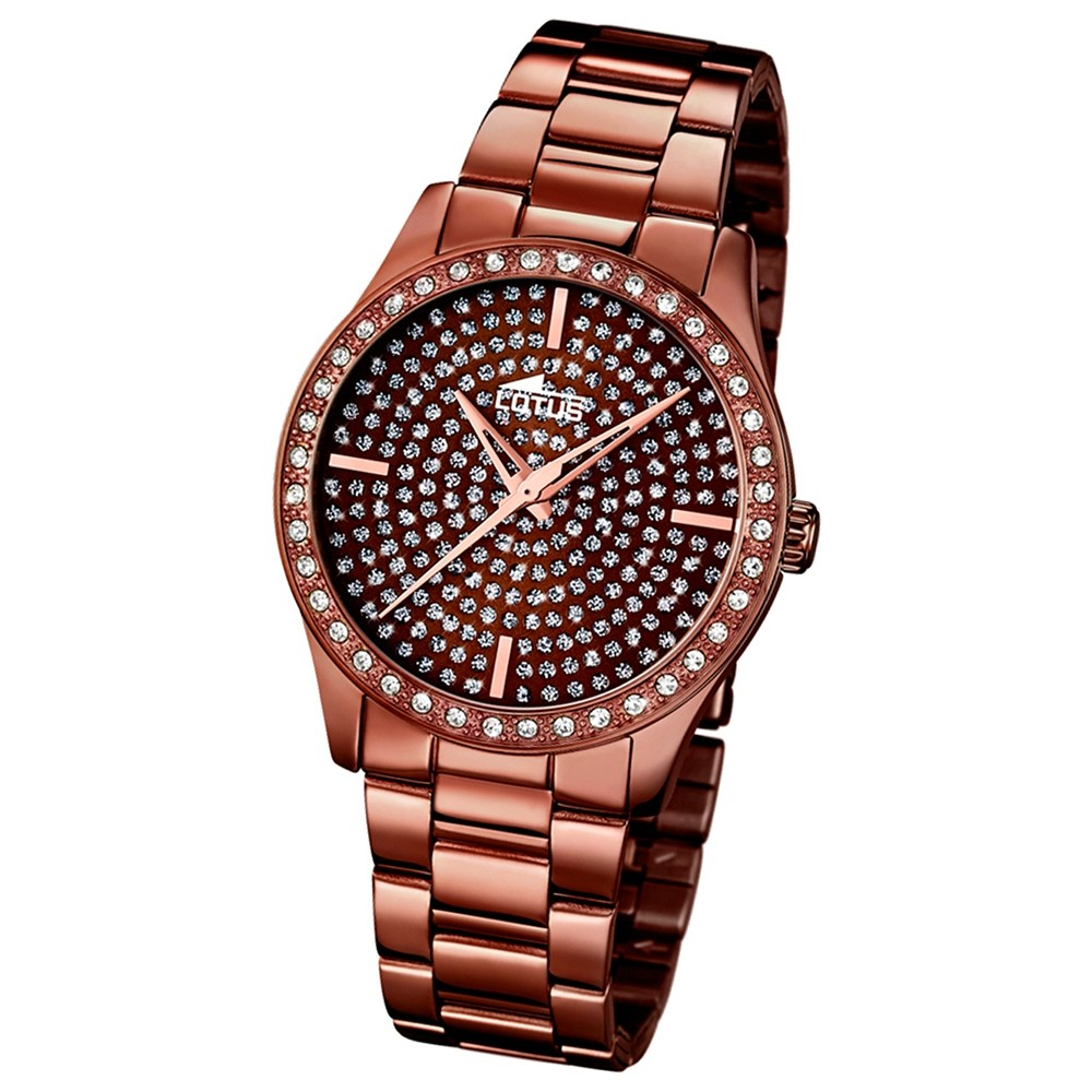 LOTUS Damen-Uhr - Woman/Trendy/Lady - Analog - Quarz - Edelstahl - UL18137/1
