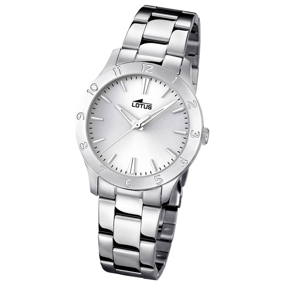 LOTUS Damen-Uhr - Woman/Trendy/Lady - Analog - Quarz - Edelstahl - UL18138/1