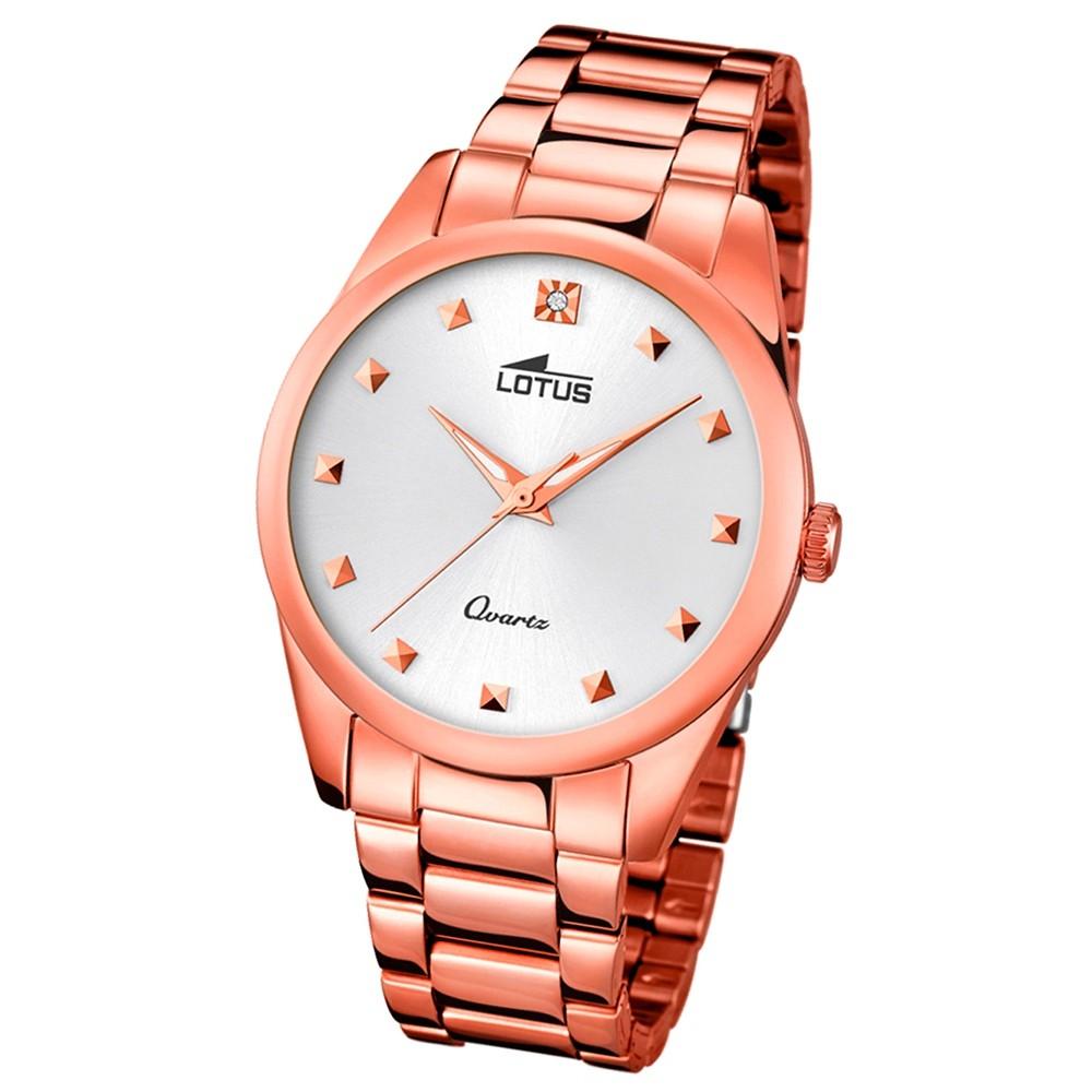 LOTUS Damen-Uhr - Woman/Trendy/Lady - Analog - Quarz - Edelstahl - UL18144/1