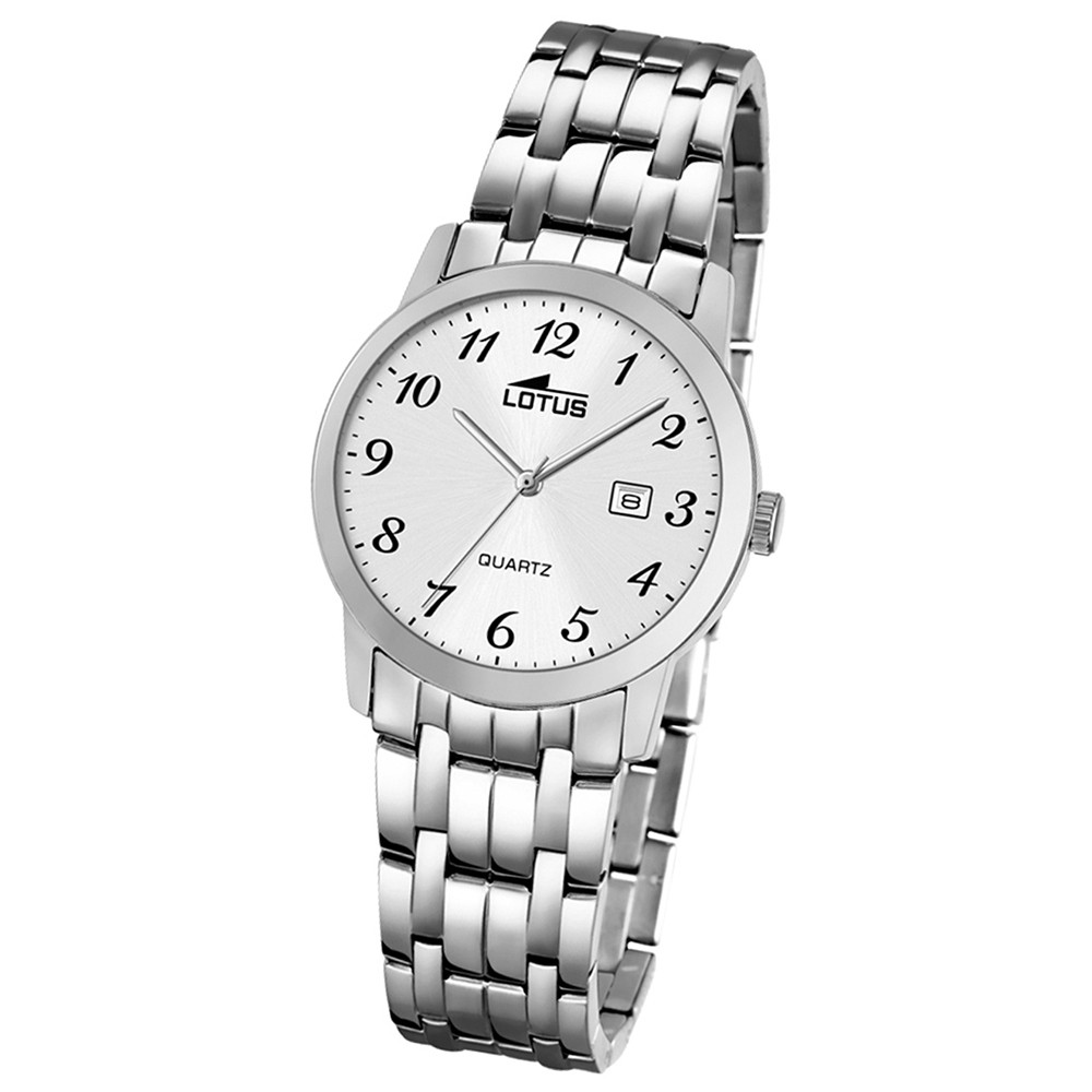 LOTUS Damen-Uhr - Stahlband klassisch - Analog - Quarz - Edelstahl - UL18179/1