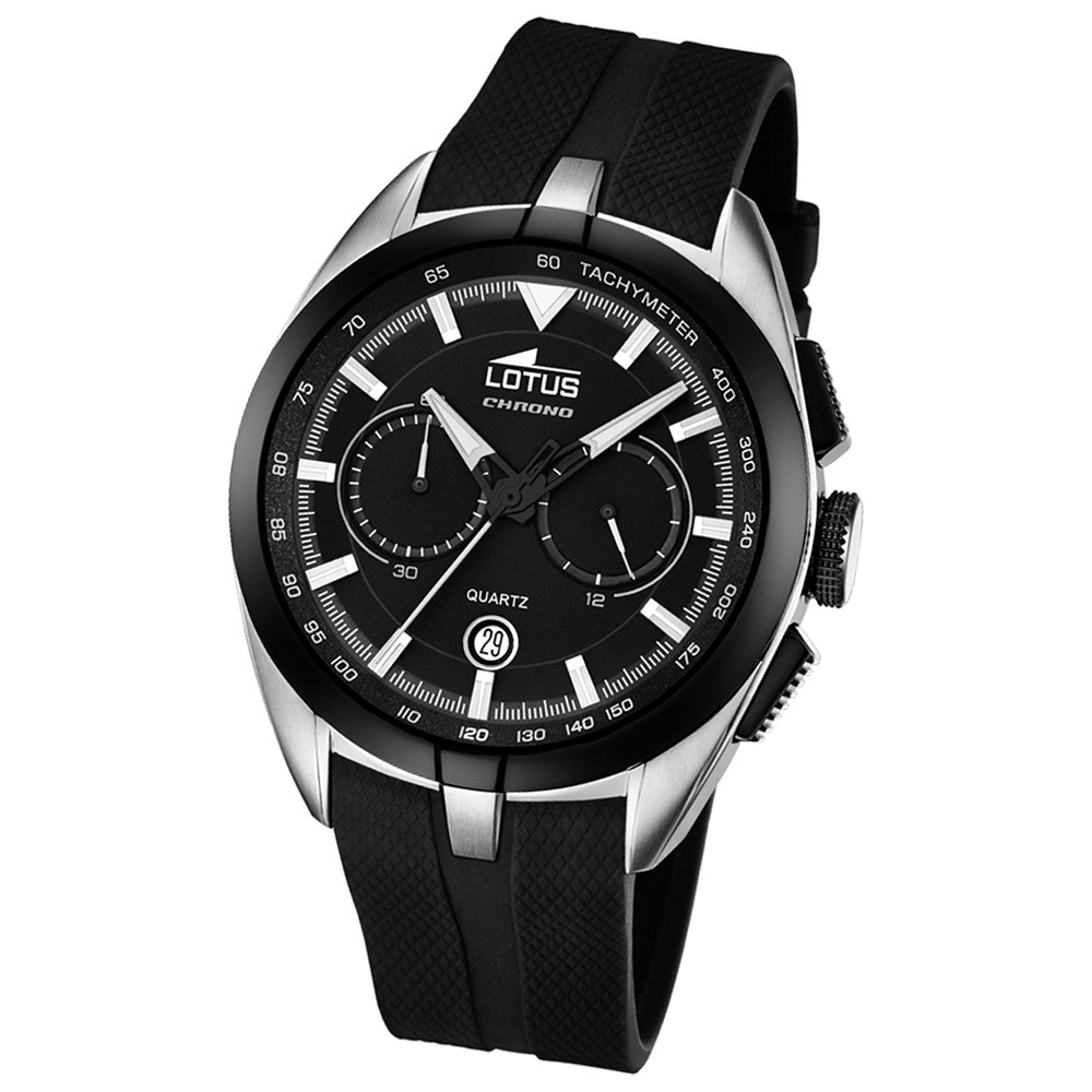 LOTUS Herren-Uhr - Smart Casual - Analog - Quarz - PU - UL18189/2