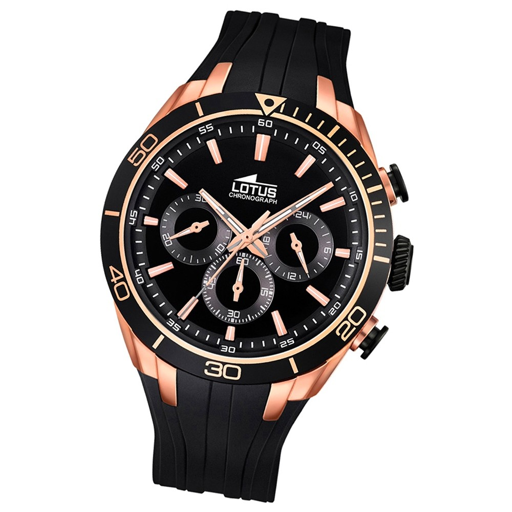 LOTUS Herren-Uhr - Smart Casual - Analog - Quarz - PU - UL18193/3