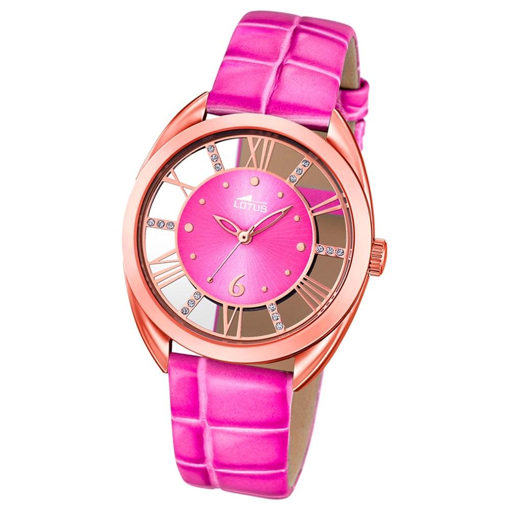 LOTUS Damen-Uhr - Woman/Trendy/Lady - Analog - Quarz - Leder - UL18226/1