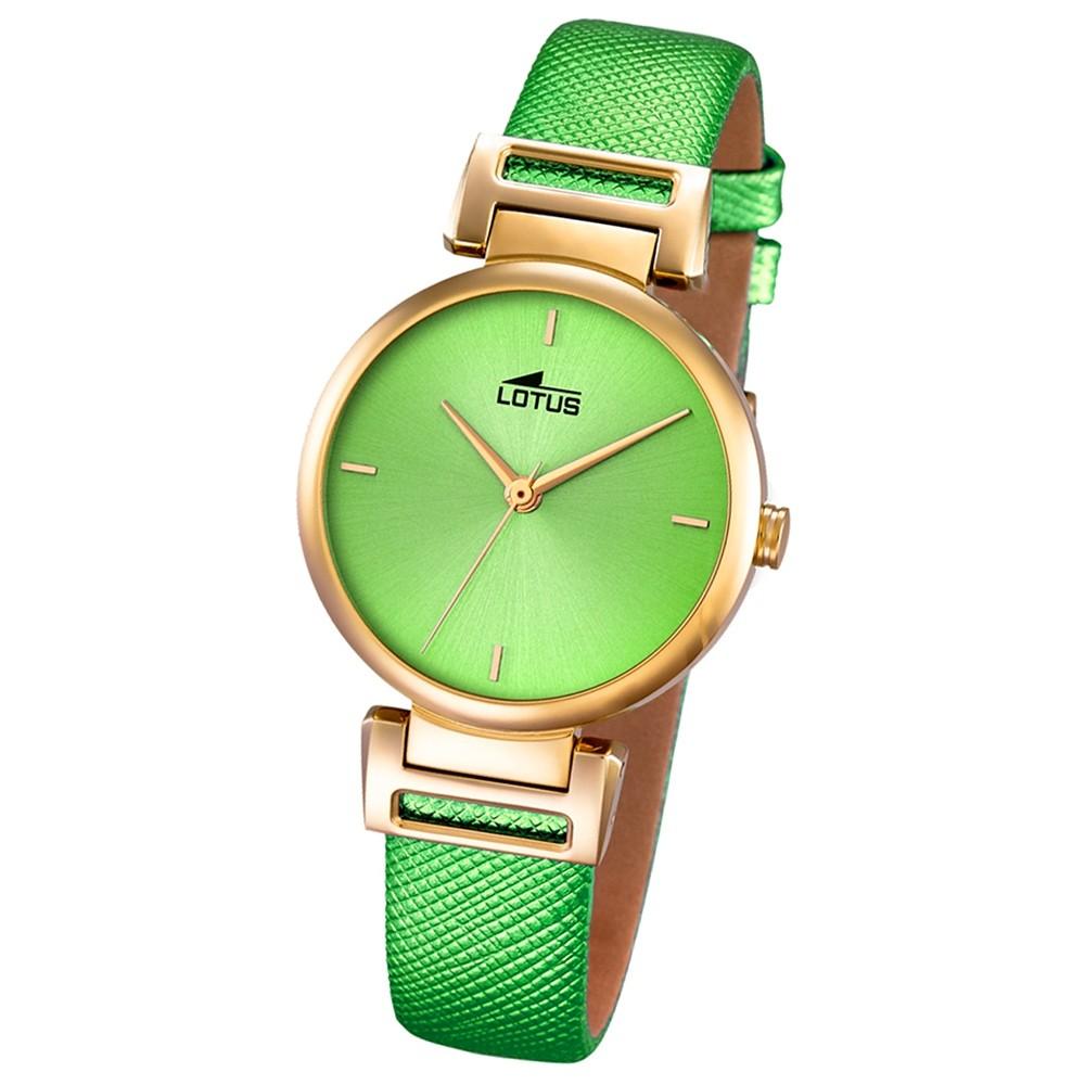 LOTUS Damen-Uhr - Woman/Trendy/Lady - Analog - Quarz - Leder - UL18228/1