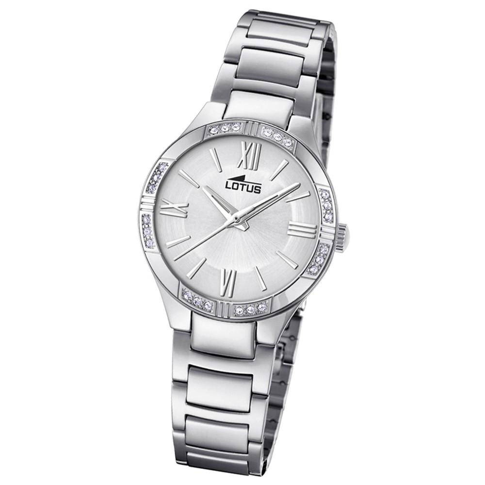 Lotus Damen-Armbanduhr Edelstahl silber 18387/1 Quarz Grace UL18387/1