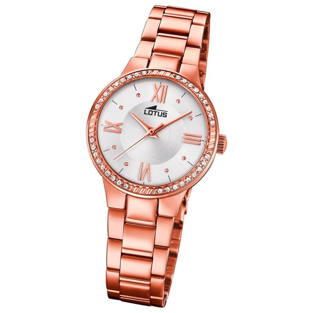 Lotus Damen-Armbanduhr Edelstahl roségold 18394/1 Quarz Grace UL18394/1