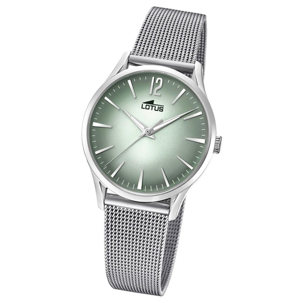 Lotus Damen-Armbanduhr Edelstahl silber 18408/4 Quarz Revival UL18408/4
