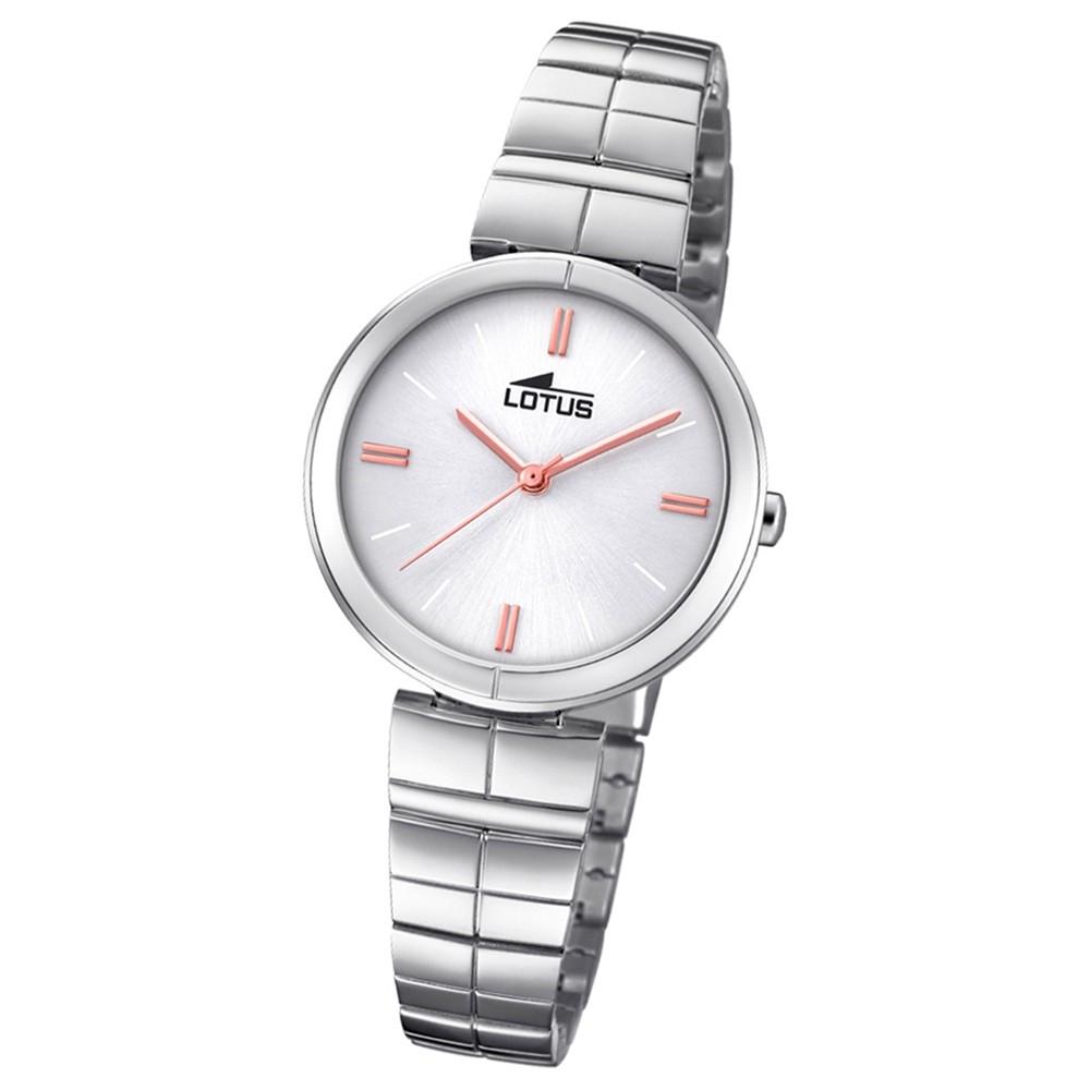 Lotus Damen-Armbanduhr Edelstahl silber 18431/1 Quarz Trendy UL18431/1