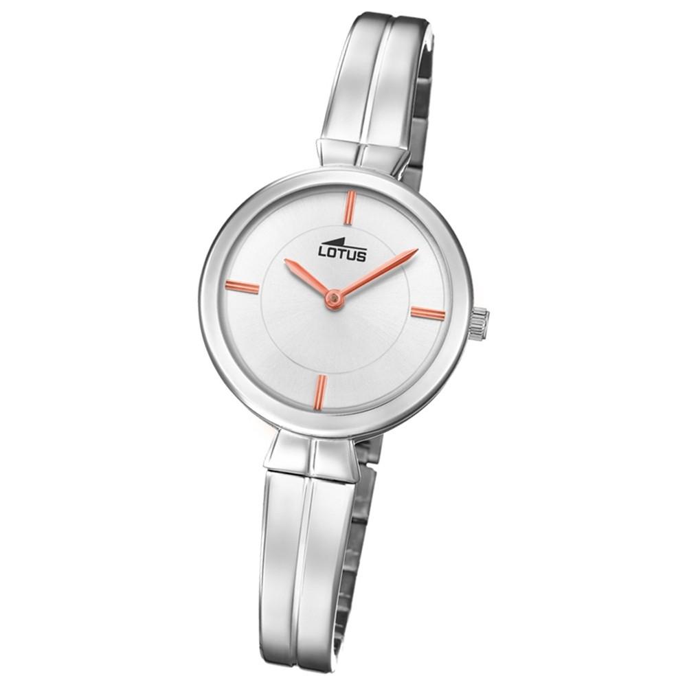 Lotus Damen-Armbanduhr Edelstahl silber 18439/1 Quarz Trendy UL18439/1