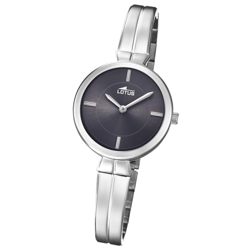 Lotus Damen-Armbanduhr Edelstahl silber 18439/2 Quarz Trendy UL18439/2