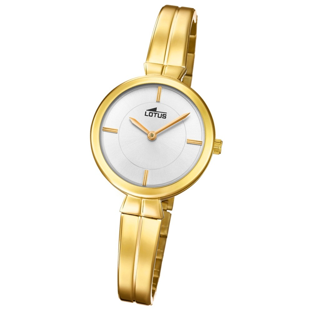 Lotus Damen-Armbanduhr Edelstahl gold 18440/1 Quarz Trendy UL18440/1