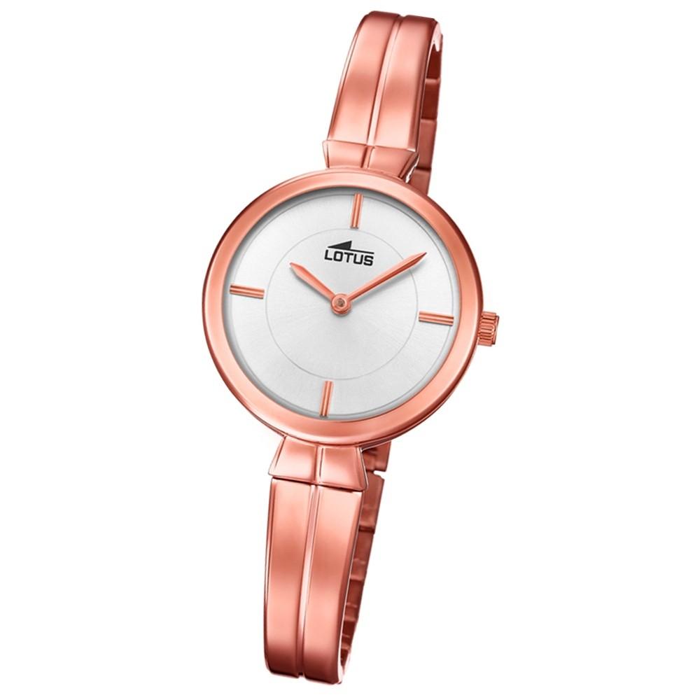 Lotus Damen-Armbanduhr Edelstahl roségold 18441/1 Quarz Trendy UL18441/1
