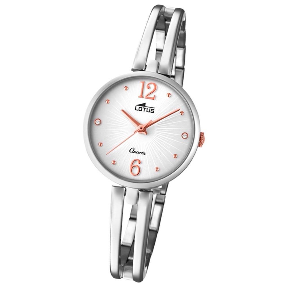 Lotus Damen-Armbanduhr Edelstahl silber 18442/1 Quarz Trendy UL18442/1