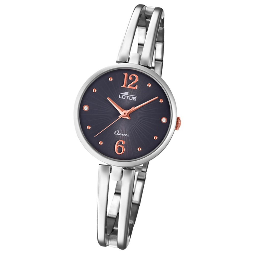 Lotus Damen-Armbanduhr Edelstahl silber 18442/2 Quarz Trendy UL18442/2