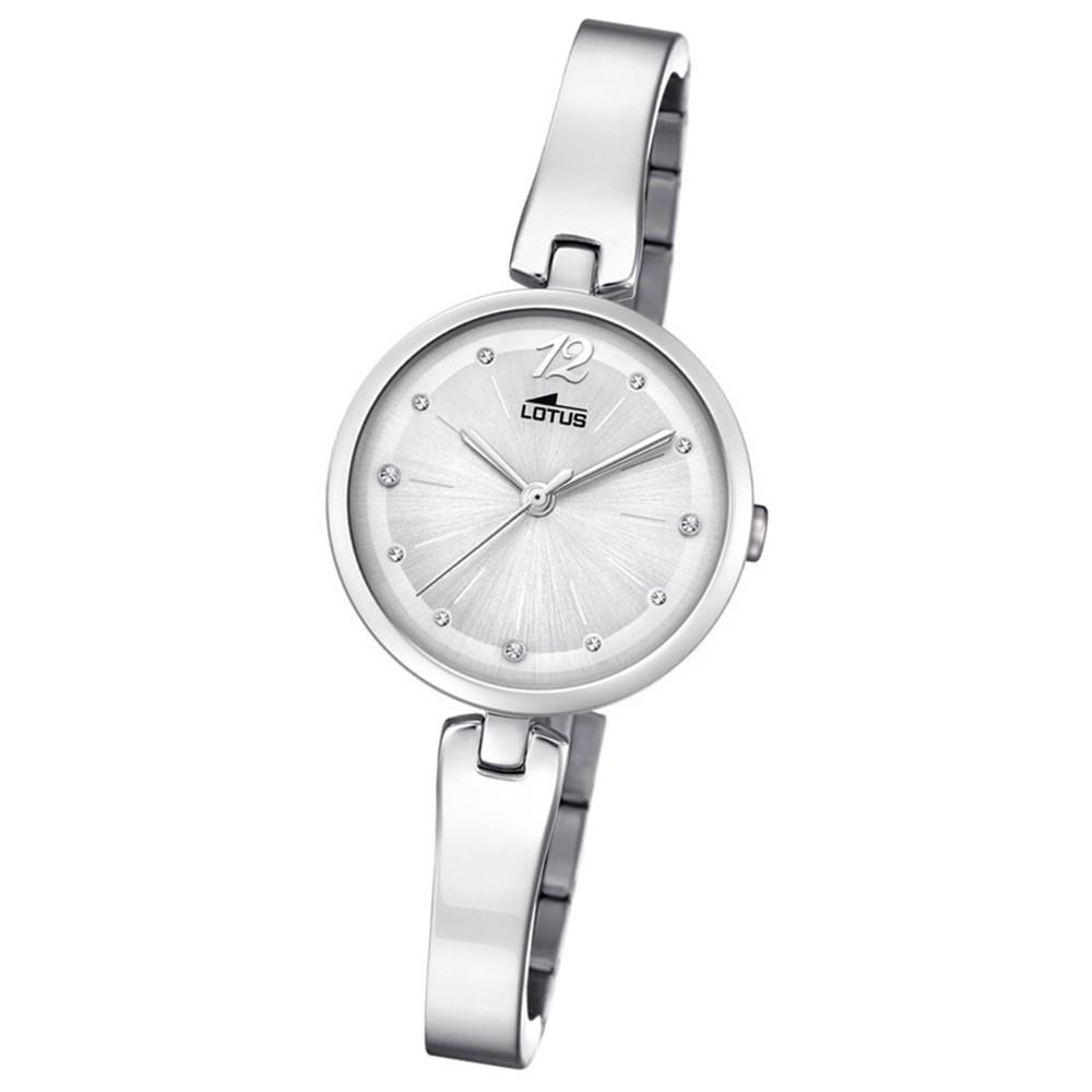Lotus Damen-Armbanduhr Edelstahl silber 18445/1 Quarz Trendy UL18445/1