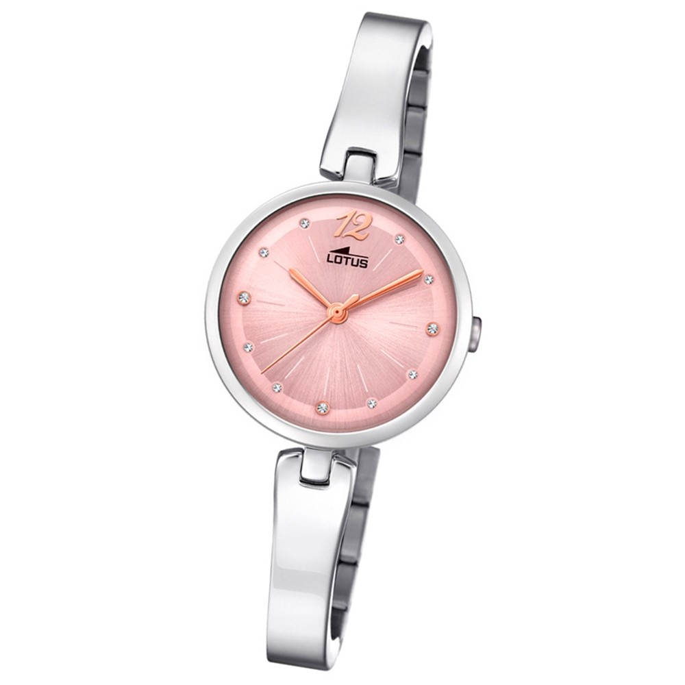 Lotus Damen-Armbanduhr Edelstahl silber 18445/2 Quarz Trendy UL18445/2