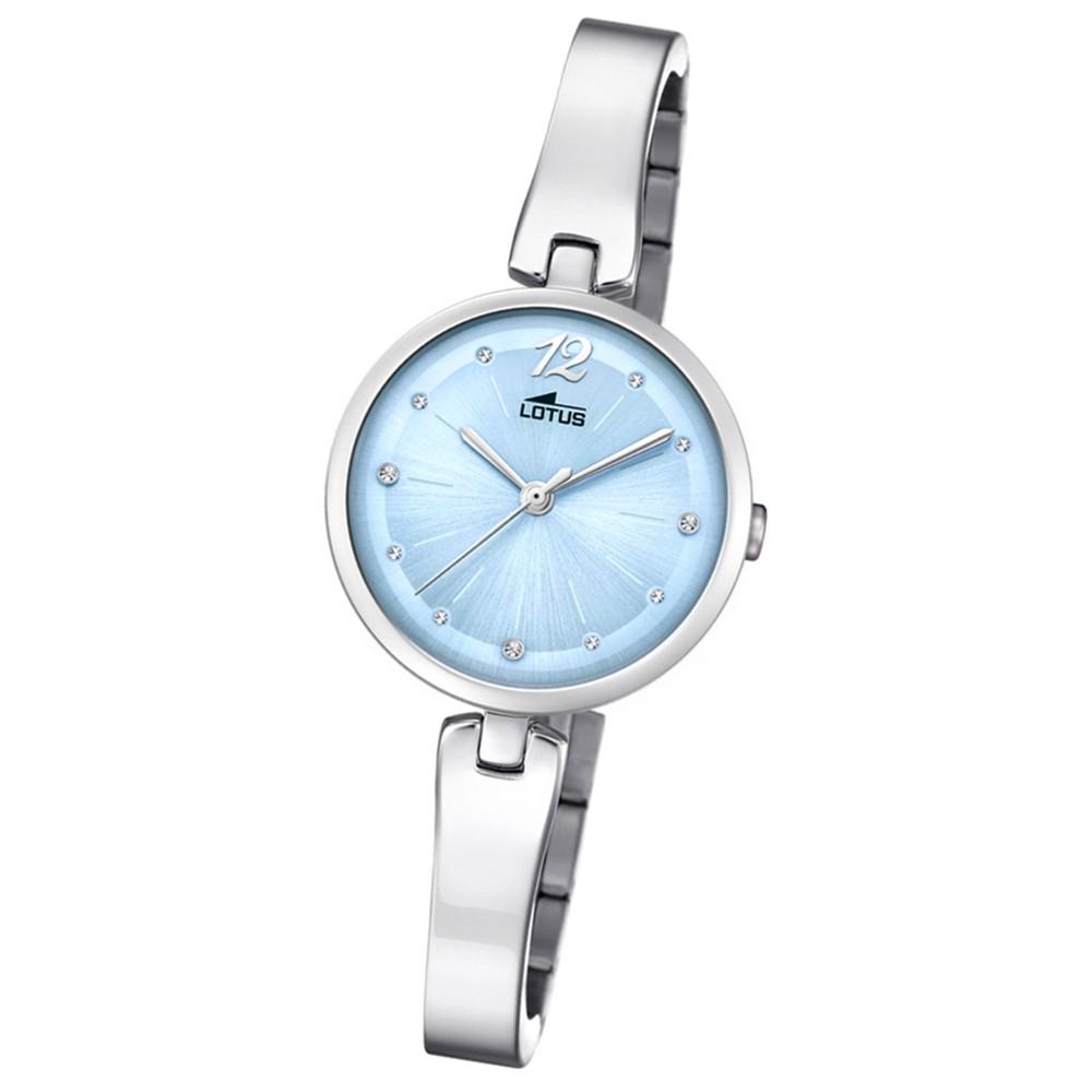 Lotus Damen-Armbanduhr Edelstahl silber 18445/3 Quarz Trendy UL18445/3
