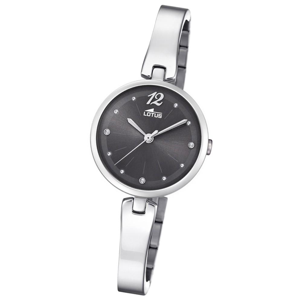 Lotus Damen-Armbanduhr Edelstahl silber 18445/4 Quarz Trendy UL18445/4