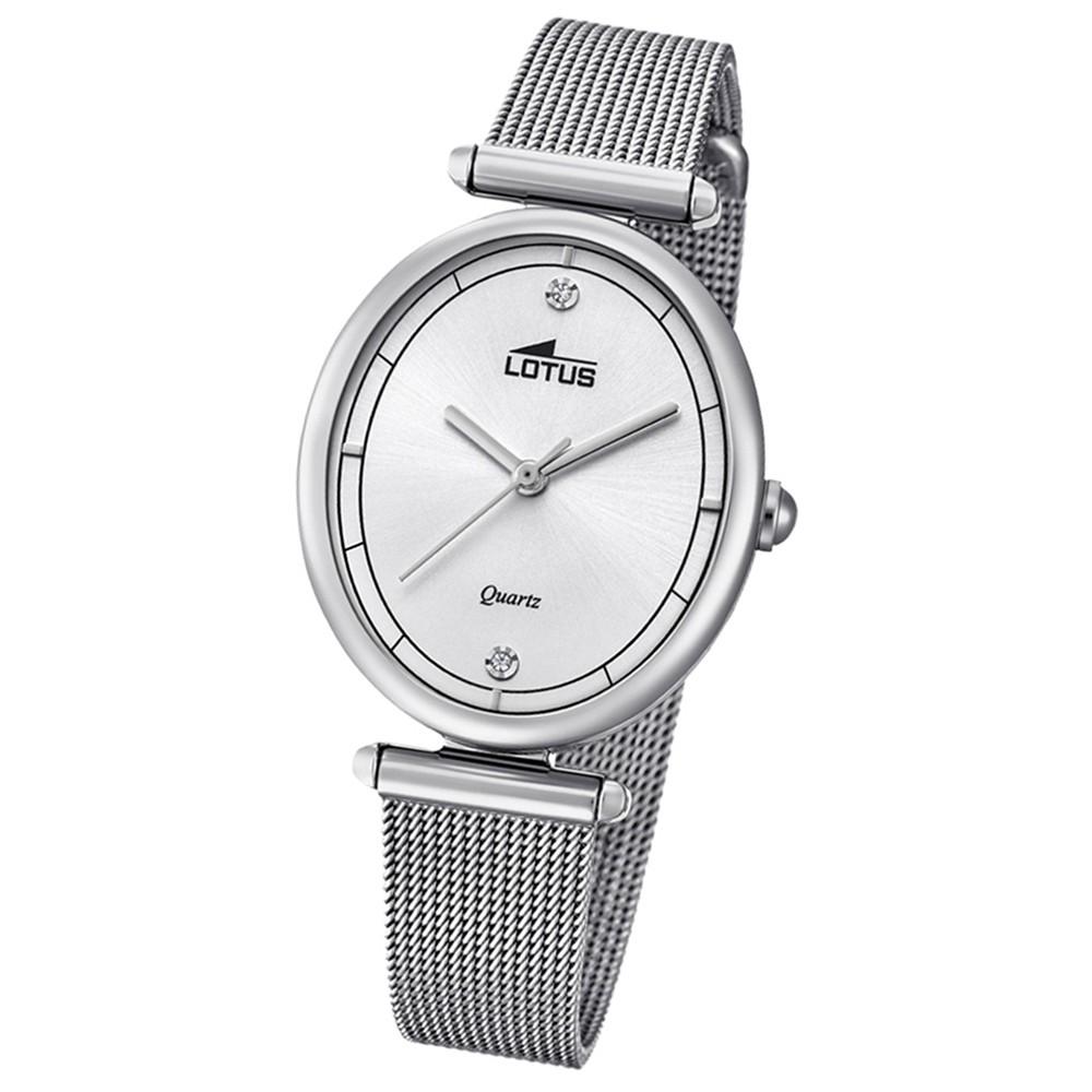 Lotus Damen-Armbanduhr Edelstahl silber 18448/1 Quarz Bliss UL18448/1