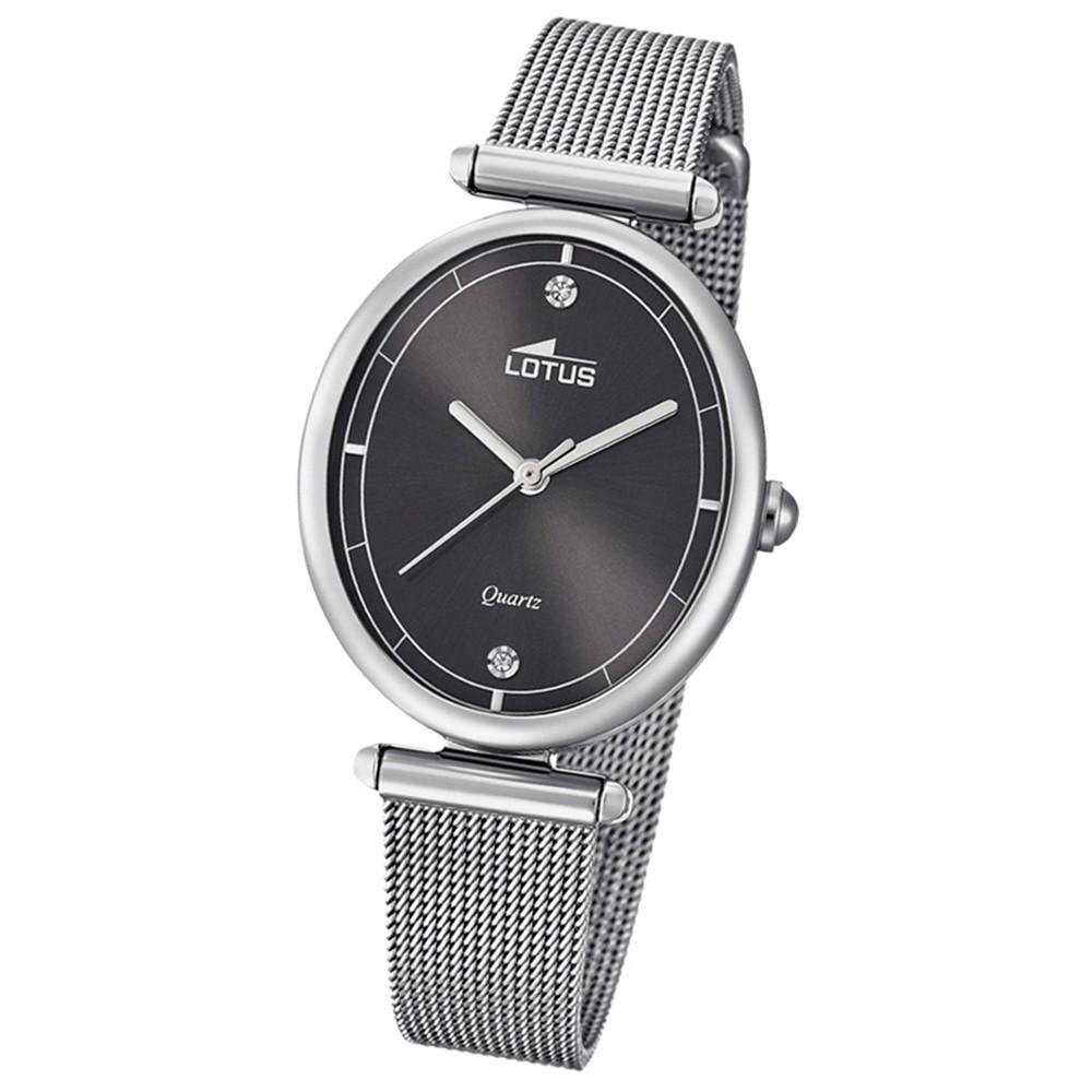 Lotus Damen-Armbanduhr Edelstahl silber 18448/2 Quarz Bliss UL18448/2