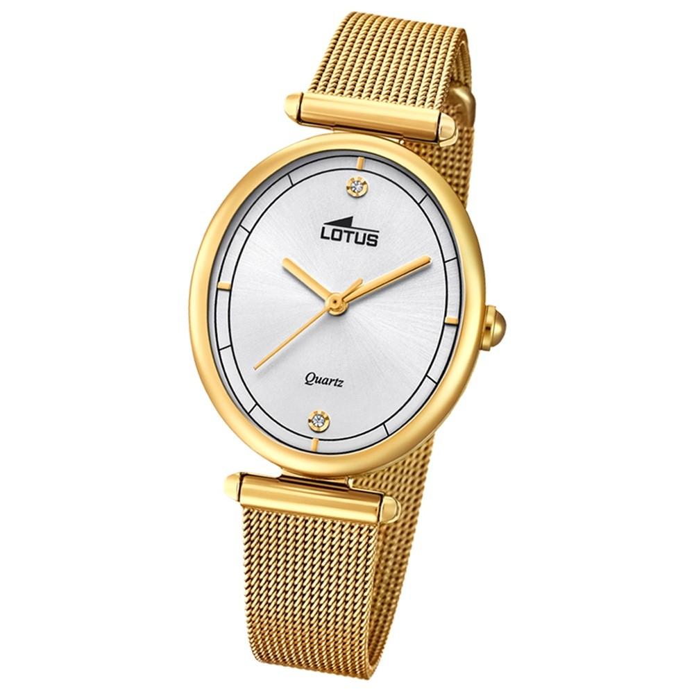 Lotus Damen-Armbanduhr Edelstahl roségold 18449/1 Quarz Bliss UL18449/1
