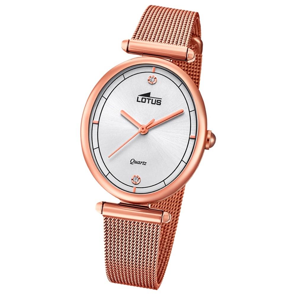Lotus Damen-Armbanduhr Edelstahl gold 18450/1 Quarz Bliss UL18450/1