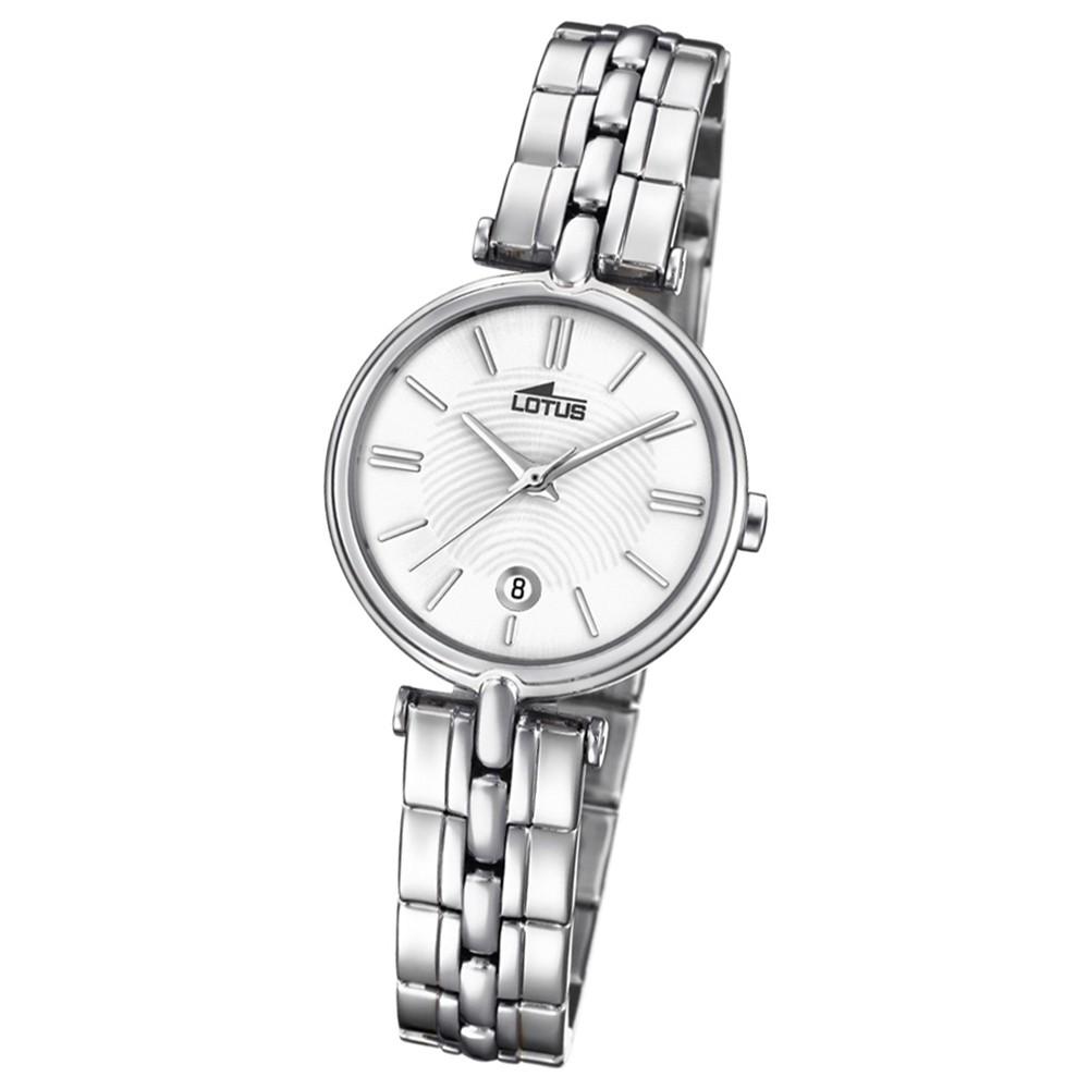 Lotus Damen-Armbanduhr Edelstahl silber 18456/1 Quarz Bliss UL18456/1