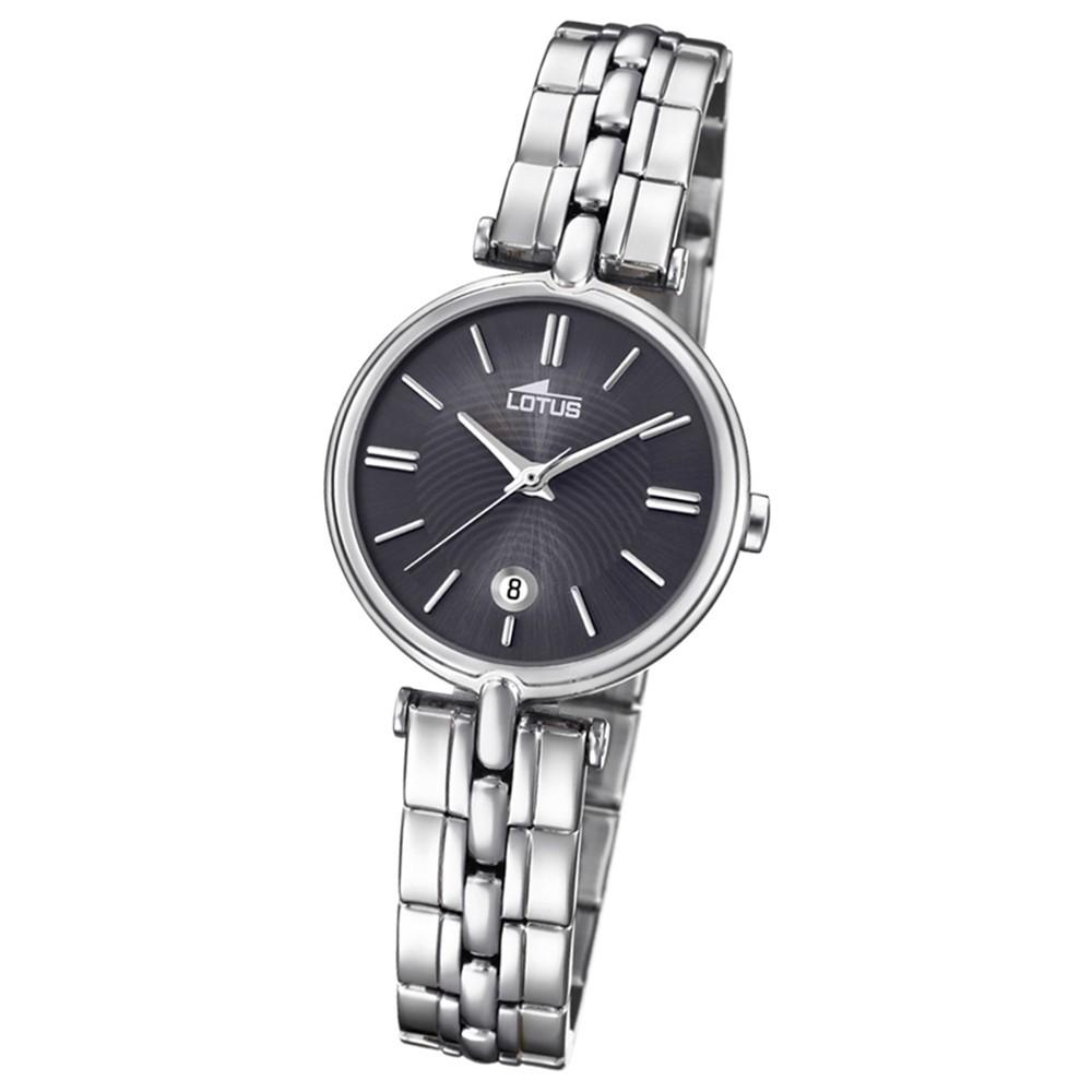 Lotus Damen-Armbanduhr Edelstahl silber 18456/2 Quarz Bliss UL18456/2