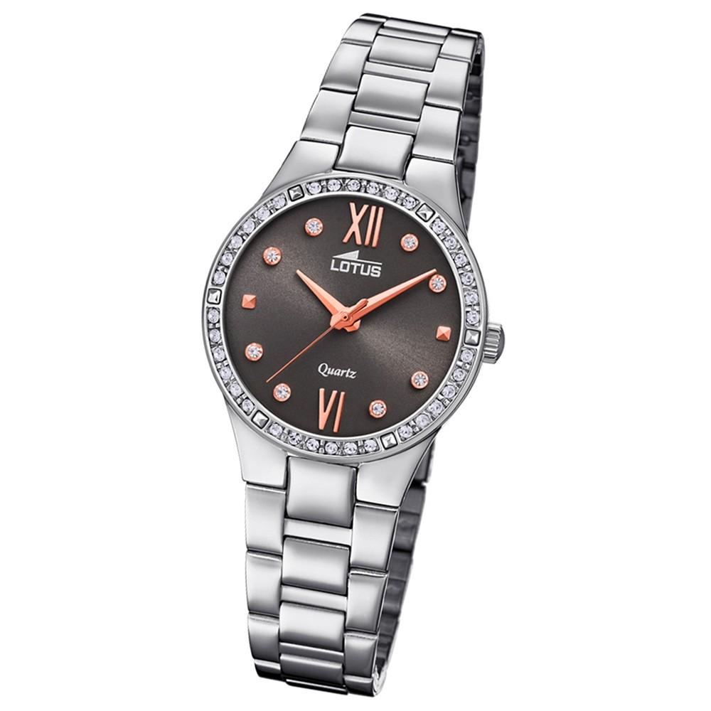 Lotus Damen-Armbanduhr Edelstahl silber 18460/2 Quarz Bliss UL18460/2