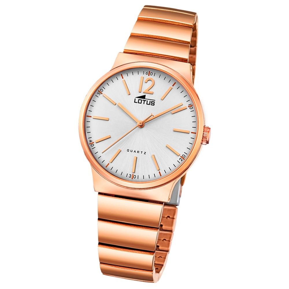 Lotus Damen-Armbanduhr Edelstahl roségold 18470/1 Quarz Minimalist UL18470/1