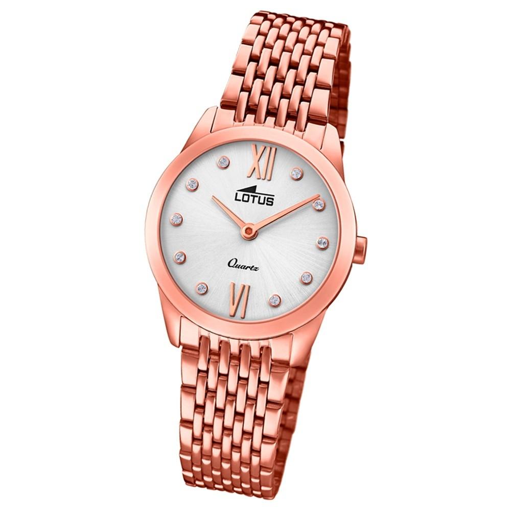 Lotus Damen-Armbanduhr Edelstahl roségold 18478/1 Quarz Minimalist UL18478/1